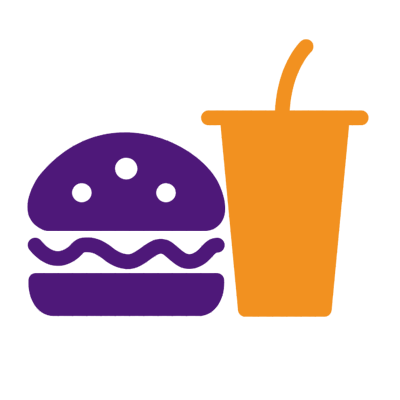 efekt niezdrowej lub nieprawidłowej diety